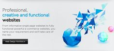 Professional, creative and functional websites