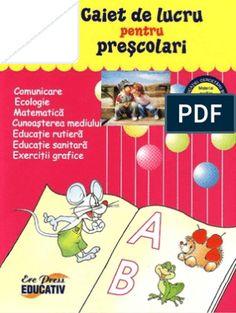 Carte Educativa Pentru Prescolari Activitati Matematice 5 7 Ani Kids Routine Chart, School Lessons, Kindergarten Worksheets, Preschool, Knowledge, Activities, Education, Gabriel, Geo
