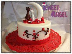 Funny Valentine  Cake by SweetAngel