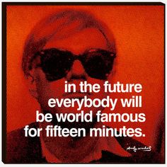 Warhol Famous Print, 30€, now featured on Fab.