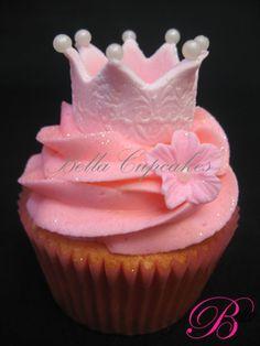 pretty princess crown cupcake delilah birthday party