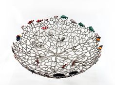 PT022.XL Coral with fish 42x42x15 cm. Price = 419.71 USD.
