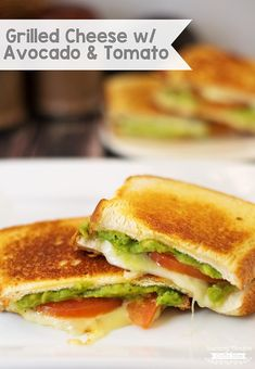 April is National Grilled Cheese month! What better way to celebrate than with a super charged version of a Grilled Cheese Sandwich? Best Grilled Cheese Sandwich Recipe, Best Potato Salad Recipe, Grilled Cheese Avocado, Healthy Sandwiches, Dairy Free Recipes, Vegetarian Recipes, Healthy Recipes, Easy Recipes, Avocado Health Benefits