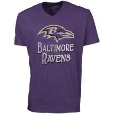 d76de0264  47 Brand Baltimore Ravens JV Scrum V-Neck T-Shirt - Purple Baltimore