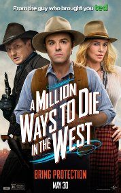Movie 29/50: A Million Ways to Die in the West (2014). My rating: 3/5. The story was clichéd and it didn't do any good for stereotypes, but it's still a fun watch with some good laughs.