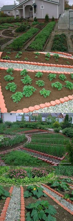 Geometric garden planning