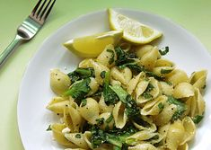 Brown Butter Pasta with Tatsoi