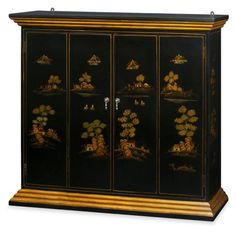 52in Chinoiserie Scenery Wall TV Cabinet - Black ChinaFurnitureOnline http://www.amazon.com/dp/B00GAAC8GS/ref=cm_sw_r_pi_dp_ipuRub1E6M5MA