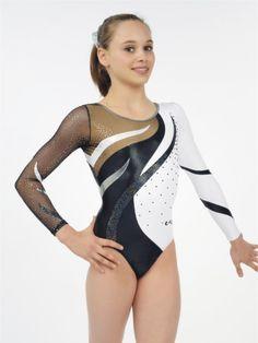 f10027fbb 105 bästa bilderna på Gymnastics leotard long sleeve