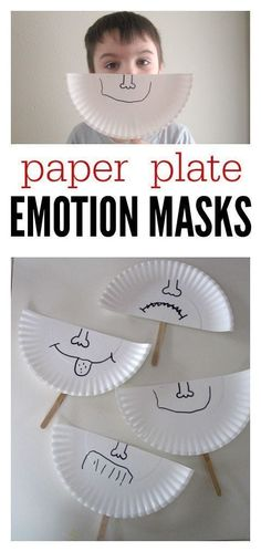 Plate Emotion Masks So simple it's brilliant. Talk about feelings and make these emotion masks at preschool.So simple it's brilliant. Talk about feelings and make these emotion masks at preschool. Social Emotional Activities, Emotions Activities, Social Emotional Development, Teaching Emotions, Toddler Development, Respect Activities, Social Work Activities, Language Development, Teaching Kids
