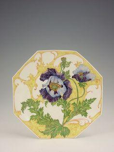Розенбургский фарфор в стиле модерн. Сэм Шеллинк (Samuel Schellink) (1876-1958).