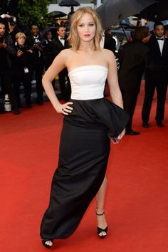 Jennifer Lawrence -- Cannes Best Dressed 2013 - Red Carpet Looks Celebrity Look, Celebrity Dresses, Celeb Style, Dresses 2013, Nice Dresses, Le Style Jennifer Lawrence, Jennifer Laurence, Dior Dress, Red Carpet Looks