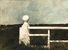 Andrew Wyeth - King Post