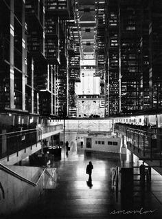 SMOVLOV Megabiblioteca | Biblioteca Vasconcelos, Mexico City, Mexico