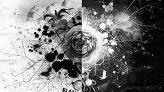 Image result for black and white fractal art