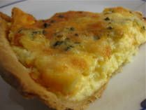 Easiest cheese quiche