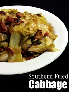 Southern Fried Cabbage | Aunt Bee's Recipes I fried the bacon whole and then crumbled when crispy, instead of dicing while raw, added 1T Soy Sauce + 1T W sauce instead of 2 W sauce. Added 1T brown sugar instead of 2. Added 3 cloves of garlic with onion instead of garlic powder. Delicious, will make again and again. I am also sure it would have been good as the recipe reads as well. My changes weren't significant, just tweaking for fun.