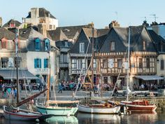 Six beautiful little Breton ports Photo Bretagne, Holidays France, Brittany France, Kerala Tourism, Picture Postcards, Portugal Travel, France Travel, Native Country, Travel Inspiration