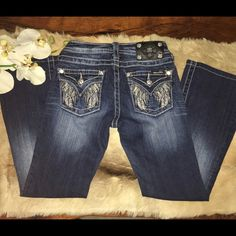 ⚜MISS ME JEANS FOR  GIRLS ⚜ IN EXCELLENT CONDITION MISS ME JEANS FOR GIRLS BOOT CUT INSEAM 24.5 inches  Miss Me Jeans Boot Cut