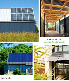 Cheat Sheet: Shopping for Solar Panels