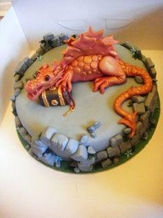 dragon cake..