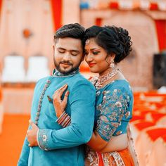 Image may contain: 2 people Indian Wedding Poses, Indian Wedding Couple Photography, Wedding Couple Pictures, Wedding Couples, Diana, Under Armour, Wedding Stills, Pre Wedding Photoshoot, Mood