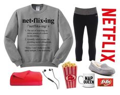 """Netflix Is Life"" by teesandtankyou on Polyvore"