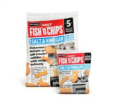 Burton's Fish & Chips on Packaging of the World - Creative Package Design Gallery