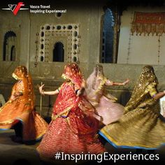 Take in the swirling attraction of #Rajasthan with its #traditional #Ghoomer dance.