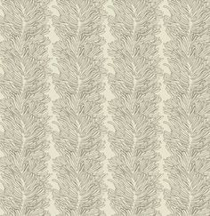 Parson Gray Curious Nature Coral Reef Bone fabric by the yard. $9.25, via Etsy.