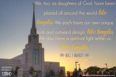 Neill F. Marriott  #WomensMeeting. September 2014. #MormonWomenStand #ShareGoodness #LDSConf