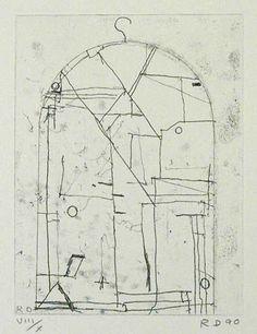 Richard Diebenkorn Etchings - Arion Press http://www.pinterest.com/joostgerritsen/contemporary-drawings-and-old-ones/