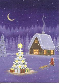 Queréis conocer la historia de la Estrella de la Navidad?? Click en la imagen. Ilustración: Eva Melhuish