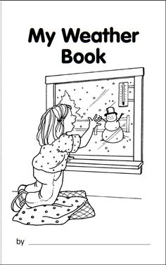 My Book About the Weather! - free printables for making a weather journal