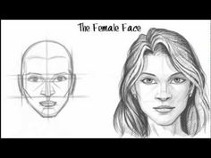 How to Draw the Female Face by sweet.dreams