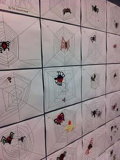 itsy bitsy spider lesson using drawing tools