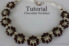 PDF tutorial beaded chocolate necklace_seed by BeadsMadness