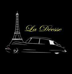 Citroen DS ID T Shirt Vintage Classic Car Gaphic Design NEW  S - 5XL #SOLS #BasicTee