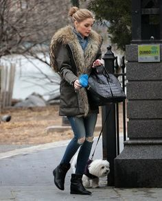 Olivia Palermo Shows Off Her Winter Style in NYC l December 2014
