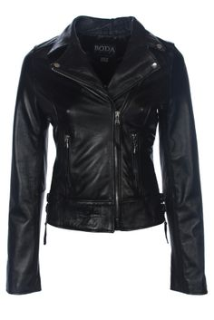 CLASSIC BIKER JACKET (OIL BLACK) - Our Classic Biker Jacket is sure to transform your wardrobe. Inspired by traditional 80's rock culture, this style screams individuality and character. Expertly constructed from stunning sheepskin, this is a true timeless classic that you will wear for seasons to come. Effortlessly cool with a sophisticated spirit, we love it for both a casual and dressy look.