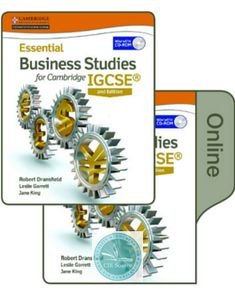 Cambridge igcse business studies coursebook with cd rom third essential business studies for cambridge igcse 2nd edition print and online student fandeluxe Gallery