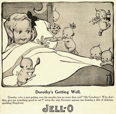 vintage jell-o, this must be the connection for sickness and jello