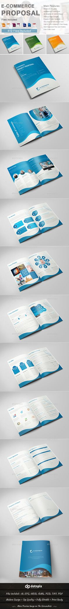 Clean Web Design Proposal loaded with paragraph   character styles - what is in a design proposal
