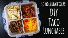 2 weeks of gluten-free school lunch recipes, with inspiration for plenty more.