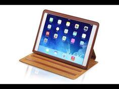 Felix zeigt und erklärt alle Features und Besonderheiten unserer KAVAJ Ledertasche Case Hamburg für das Apple iPad Air.