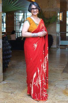 Mature Style l Saree I Fashion for older women