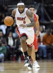 James un grande de la NBA