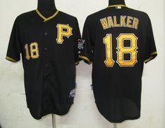 $22.00$22.00 MLB Jerseys Pittsburgh Pirates Neil Walker #18 Black