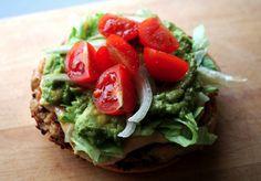 Chicken Burger #avocado #tomatoes