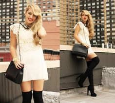 Another White Dress (by Camilla S) http://lookbook.nu/look/4116616-Another-White-Dress